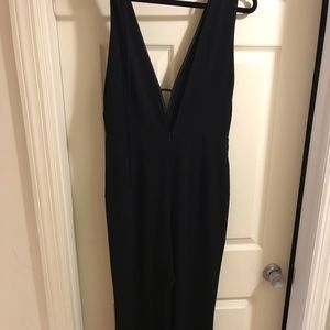 ASTR Black Jumpsuit